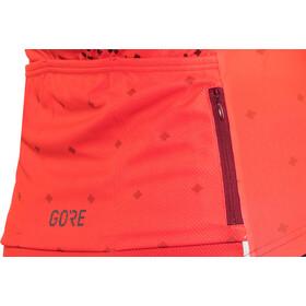 GORE WEAR C3 Brand Jersey Damen hibiscus pink/chestnut red